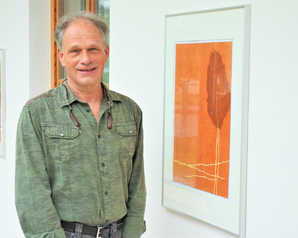 <p>Vernissage</p><h4>ERDE UNTER MEINEN FÜSSEN</h4><p>von Fritz Grill</p><p>Sonntag, 23. Mai I 10 Uhr</p><p>Galerie im Pfarrzentrum</p>